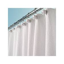 Hotel Quality Shower Curtains Mdesign Hotel Quality Polyester Cotton Blend