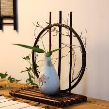 Bamboo Wall Vase Popular Bamboo Basket Vase Buy Cheap Bamboo Basket Vase Lots From