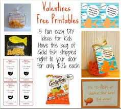 fish valentines goldfish valentines ideas free printables sugar free valentines