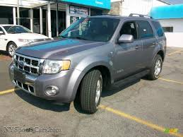 Ford Escape Limited - 2008 ford escape limited 4wd in tungsten grey metallic a63047