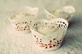 cupcake wrappers made from doilies free cupcake wrapper template