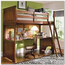 Loft Bed With Desk And Futon Bunk Bed Futon Desk Roselawnlutheran