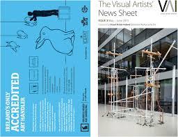 visual artists u0027 news sheet 2015 may june by
