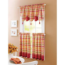 Sears Drapes And Valances by Kitchen Astonishing Walmart Valances For Kitchen Walmart Swag
