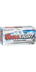 coors light 18 pack coors light 18 pack cans colorado domestic beer shoprite wines