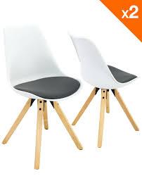 coussins de chaises de cuisine chaise scandinave avec coussin lot de 2 98 9 clea kayelles com