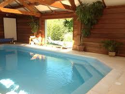 chambre avec normandie maison avec piscine couverte et chauffée petit étang