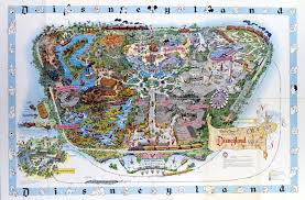 Map Of Orange County Ca Disneyland U0027s Evolution Through Maps Design U0026 Architecture