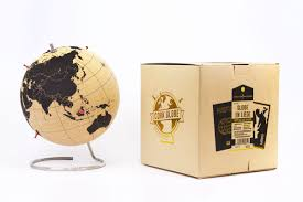 Cork World Map by Cork Globe Pinpoint Your Travels Right On The Globe
