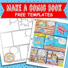 Printable Activity Book Comic Book Templates Free Kids Printable Kids Activities