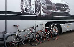 mercedes benz bicycle titanium bike custom made