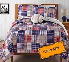 Twin Plaid Bedding kids bedding sets in color blue gender boys size full ebay