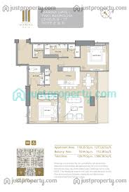 30 sq m marina gate tower 1 floor plans justproperty com