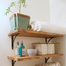Industrial Bookcase Diy Rustic Shelves Gallery Dwellinggawker