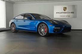 porsche panamera blue 2017 porsche panamera turbo for sale in colorado springs co 17209