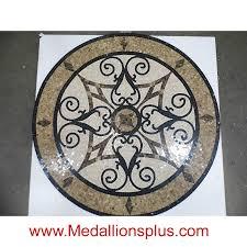 kristine ii 60 polished mosaic floor medallion medallionsplus