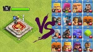 clash of clans all troops clash of clans new troop video