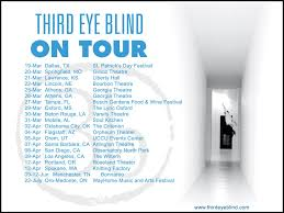 Third Eye Blind Latest Album Third Eye Blind Embark On Spring 2016 Headlining Tour News