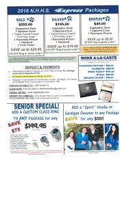 cap and gown order senior package info student store high school