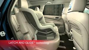 nissan pathfinder third row pathfinder u0027s ez flex seating system with latch and glide
