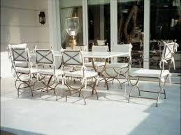 Patio Furniture Metal Opulent Outdoor Furniture Rich And Classy Metal Garden Table