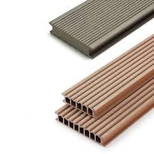 Waterproof Deck Flooring Options by Wpc Deck Boards Wood Look Grooved Waterproof Relazzo Puro