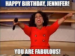 Jennifer Meme - happy birthday jennifer meme images cake song wishes messages