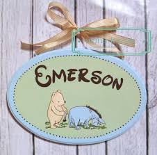 baby name plates 44 best name plaques images on painted name