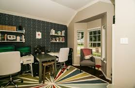 a pretty home office makeover using stencils stencil stories