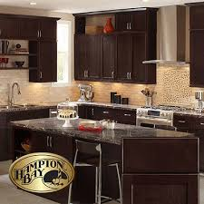 home depot shaker cabinets dark brown kitchen cabinets the home depot chocolate cabinet home