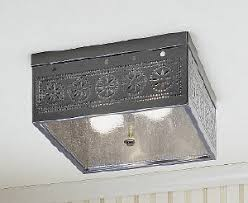 Tin Ceiling Lights Square Ceiling Light Fixture