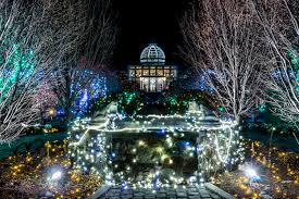 Botanical Gardens Christmas Lights by 9 Botanical Gardens That Are More Beautiful At Night Botanical