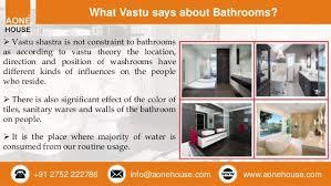 bathroom accessories and color selection as per vastu