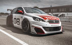 peugeot big cars peugeot 308 racing cup revealed as rcz track car replacement