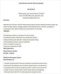 Nursery Teacher Resume Sample by Free Teacher Resume 40 Free Word Pdf Documents Download Free