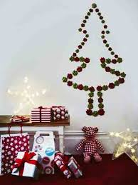 christmas tree lights on wall christmas lights decoration