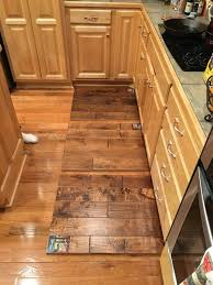 will stained maple flooring turn yellow