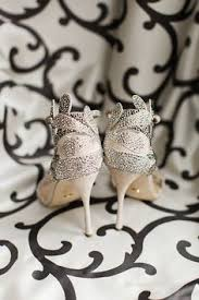 wedding shoes bandung sparkly pointy toed hells from terence and chelsa s wedding