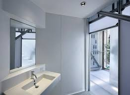Pod Style Bathroom Cellophane House Prefabricated Architecture U0026 Design For Disassembly