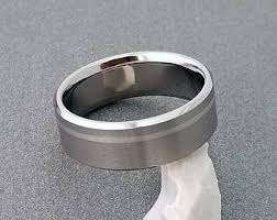 Mens Titanium Wedding Rings by Handmade Titanium Rings Made Just For You By Classictitanium
