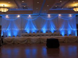 wedding backdrop blue blue wedding headtable backdrop event lightingelegant