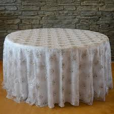 wedding linens wholesale 120 snowflake tablecloth mesh tablelinens specialty