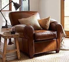 Brown Leather Chair With Ottoman Best 25 Leather Chairs Ideas On Pinterest Small Leather Chairs