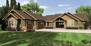 craftsman open floor plans mascord house plan 1235 the broderick