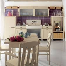 country kitchen tiles ideas purple tile accents in country kitchen interior design ideas