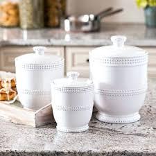 white ceramic kitchen canisters white ceramic kitchen canisters mainstays pc canister set storage