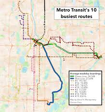 Twin Cities Map Mass Transit Is More Than Light Rail U2013 And Still Costly U2013 Twin Cities