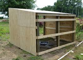 building shelter for miniature donkeys or goats