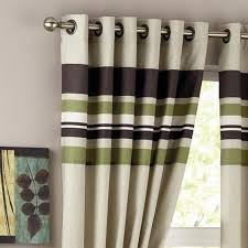Green Striped Curtains Amazing Green Striped Curtains Decorating With Curtain Green And