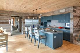 kitchen paneling ideas blooming wood walls interesting with blue